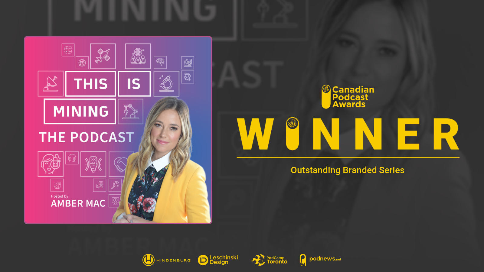 This Is Mining: the Podcast Wins Canadian Podcast Award