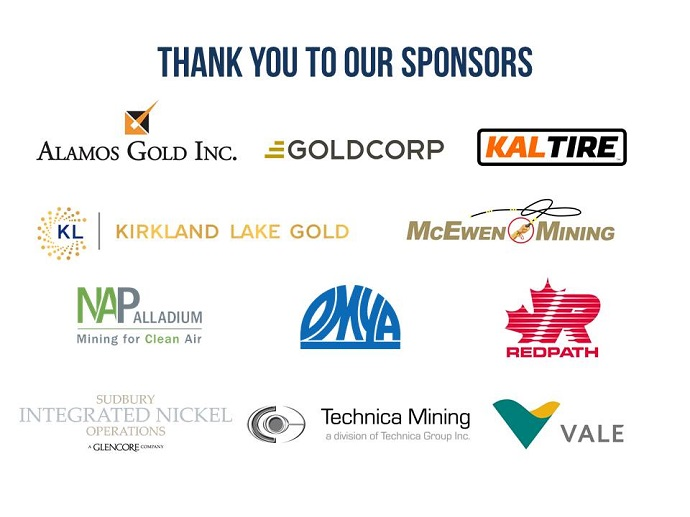 Thank you to 2018 AGM and MINED sponsors